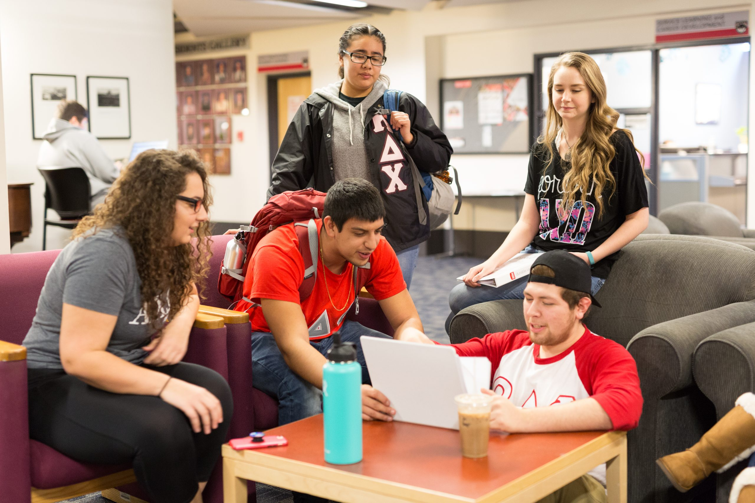 Fraternity and Sorority Students, WOU