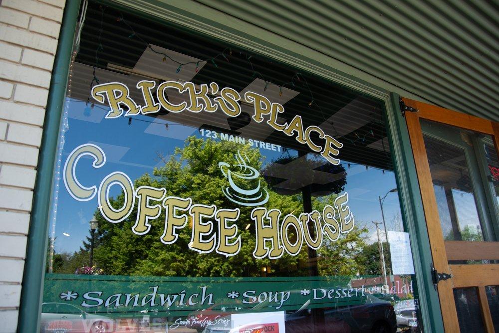 Rick's Place Window